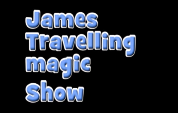 James' Travelling Magic Show Ad.