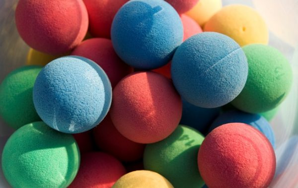 Appearing Foam Balls